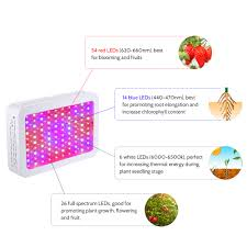 Best Cheap Led Grow Light 2015 Us 64 4 37 Off Farm Greenhouse Ip44 Ac85 265v 1000w 100 Led 5130lm Plant Growth Lamp Flora Growing Light Slim Design With Hanging Kit Balcony In Led