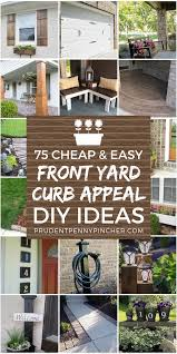 75 and easy diy front yard curb appeal ideas