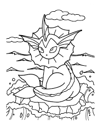 Coloring Page Astonishing Pokemon Coloring