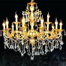 candle chandelier lighting antique led candle lamps gold crystal chandeliers hanging light luxury vintage big chandelier