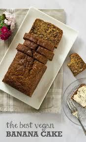 The Best Vegan Banana Cake Recipe The Veg Space Top Uk Recipe Blog