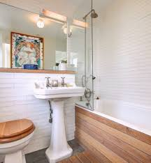 small spa bathroom eclectic with wood paneling undermount sinks