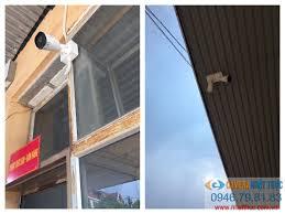 Lắp đặt camera IP Tiandy giám sát tại cửa hàng Xăng Dầu Vĩnh Phúc