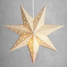 Stern Solvalla Zum Aufhängen 45 Cm Gold