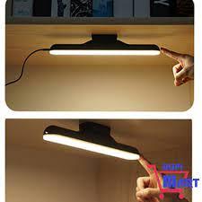 SIÊU HOT] Đèn Led tích điện 1800mAh sạc USB dán tường gắn nam châm để bàn  học bàn làm việc 4 chế độ sáng cảm ứng chạm giá cạnh tranh