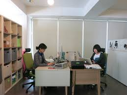 evernote office. not photographed in the earlier shots is dave jin account executive evernote korea office