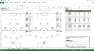 soccer lineup template soccer roster free excel template excel templates for every purpose