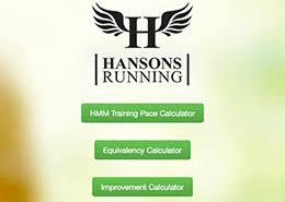 Hmm Training Pace Calculator Luke Humphrey Running