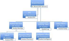 Veterinary Organizational Chart