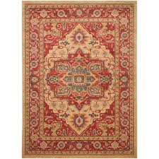 safavieh mahal red natural 9 ft x 12 ft area rug