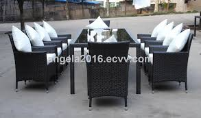 high quality handcraft pe rattan leisure terrace cafe table chair set