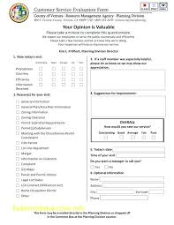 Staff Review Form Template Evaluation Restaurant Employee Doc ...