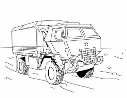 Small Picture Military Vehicles Dump Truck Military Vehicles Coloring Pages