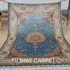 persian rugs. Modren Rugs Yilong 6u0027x9u0027 Kashmir Qum Carpet Vantage Blue Handmade Silk Persian Rugs  0708 And Persian Rugs O