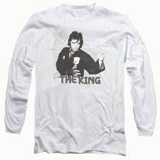 king of diy t shirt elvis fighting king long sleeve t shirt 18 1 in