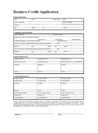 Rental Credit Application Free Credit Application Form Template Word Images Of