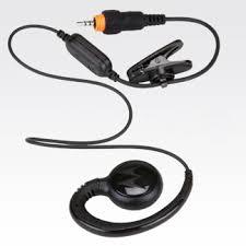 motorola earpiece. short cord earpiece (hkln4437) motorola 3