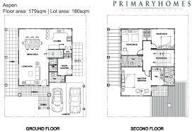 sample floor plans 2 story home sample house plans 2 two y residential house floor plan