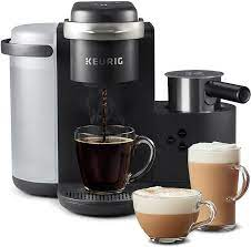 Aliexpress carries many coffee maker with milk frother related products, including foamer milk , coffee machine with cappuccino , 220v. Amazon Com Keurig K Cafe Single Serve K Cup Coffee Maker Latte Maker And Cappuccino Maker Comes With Dishwasher Safe Milk Frother Coffee Shot Capability Compatible With All Keurig K Cup Pods Dark Charco Kitchen Dining