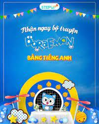 Yêu lại từ đầu tiếng Anh - Nhận free bộ truyện tranh Doraemon tiếng Anh