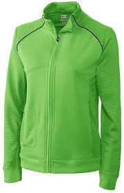 Cutter Buck Ladies And Plus Size Drytec Edge Full Zip Golf Jackets Asst Colors