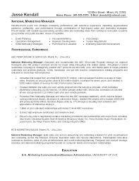 Product Manager Resume Pdf Marketing Manager Resume Sample Sample Functional Marketing Resume