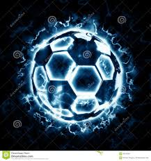 4 Pics 1 Word Lights Soccer Ball With Blue Flame Exploding Soccer Ball Stock Illustrations 297 Exploding