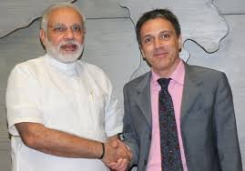 For British Biographer, Modi Was Only a Phone Call Away - The New ...