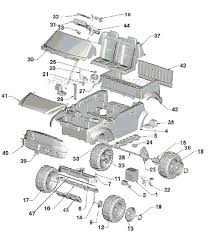 power wheels l6348 parts list and diagram ereplacementparts com