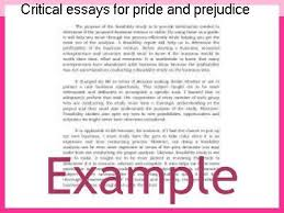 critical essays for pride and prejudice coursework service critical essays for pride and prejudice