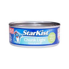 Starkist Chunk Light Tuna In Water Star Kist Chunk Light Tuna In Water 142g