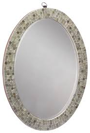 oval mirror frame. Get Quotations · Oval Mirror Frame - Decorative Handmade Wall Mounted With Mosaic Work Classic And Vintage