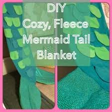 Mermaid Tail Blanket Pattern Fleece