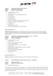 Formats For A Resume Extraordinary Sample Housekeeping Contract Template Agreement Format Resume For