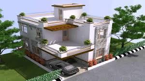 duplex house plans for 40x60 site east facing