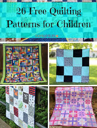26 Free Quilting Patterns for Children   FaveQuilts.com &  Adamdwight.com