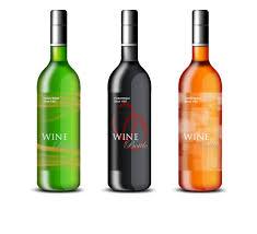 Cool Wine Labels Cool Wine Labels Graphic Design Wine Bottle Rose