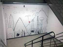 Google NYC Stairwell Mural
