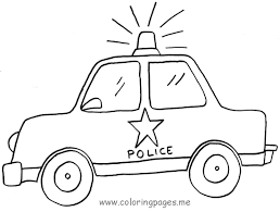 Small Picture police car coloring pages printable 02 Pinterest