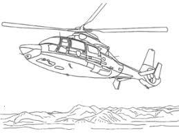 Kleurplaten Legerhelikopter