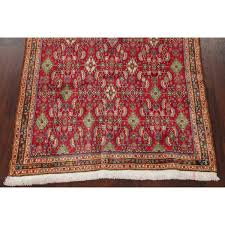 vegetable dye red kashkoli persian oriental hand knotted wool area rug 6 9