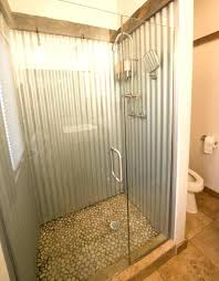 tin walls in bathroom tin walls in bathroom how to use corrugated metal
