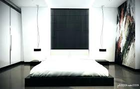 white modern bed