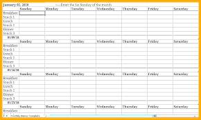 Printable Weekly Dinner Menu Breakfast Lunch Dinner Menu Template Weekly Meal Planner