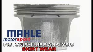 Wiseco Piston Clearance Chart Piston Failure Analysis Skirt Wear