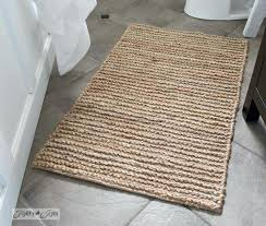 farmhouse bathroom rugs rustic sisal farmhouse bathroom rug farmhouse bath rugs