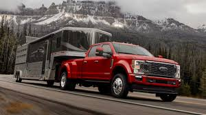 2019 F 250 Towing Capacity Chart 2020 Ford F Series Super Duty Can Tow Up To 37 000 Pounds