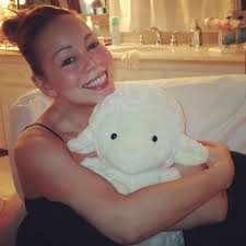 celebrities without makeup 9 9 celebs who look sgering mariah carey