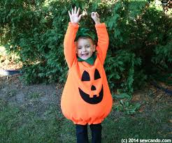 Pumpkin Costume Pattern