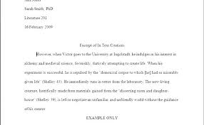 Writing An Essay In Mla Format Example Of An Essay In Mla Format Essays Examples Essays Examples